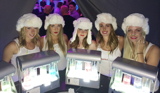 Coors Light Girls Oxygen Bars Vancouver