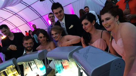 oxygen bar wedding rental
